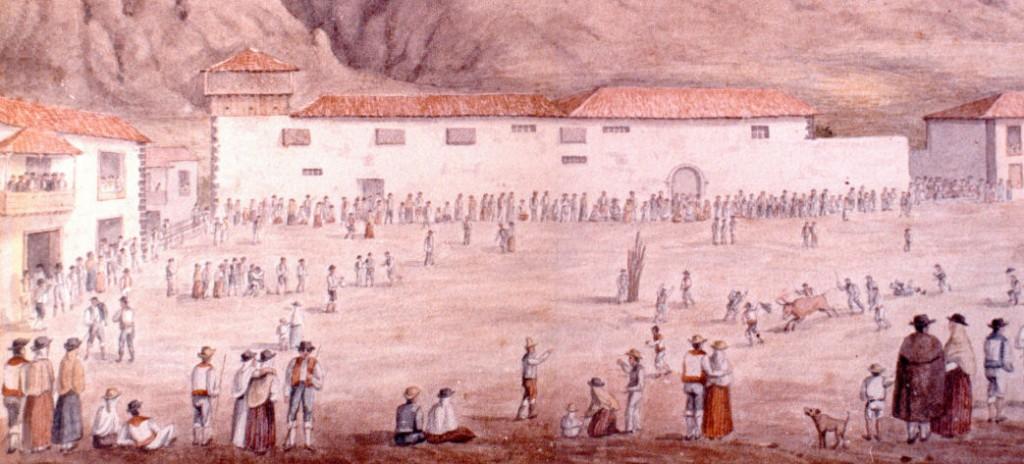 Víspera de la Fiesta patronales de La Luz de Los Silos de 1765 - Tenerife - Islas Canarias