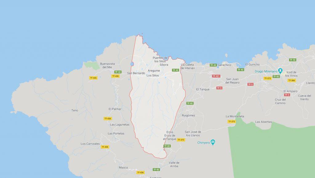 Mapa Instituto Geográfico Nacional de España