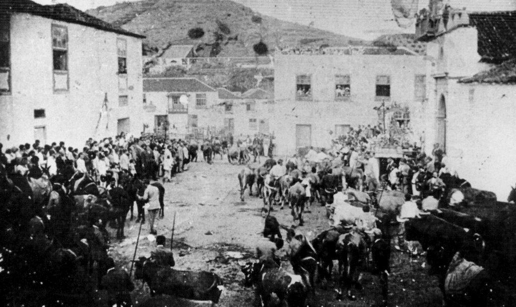 1906. Festividad de San Antonio Abad