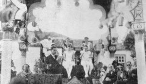 1928. Fiestas de La Luz. Fiesta del Arte el 8 de Septiembre